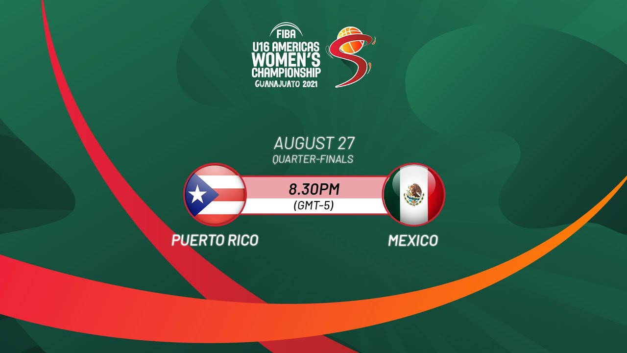Download Quarter-Finals: Puerto Rico v Mexico | Full Game - FIBA U16 Americas Women's Championship 2021