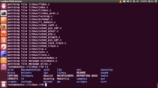 [RT-Xen] Installing LITMUS-RT on a RT-Xen ubuntu guest domU.