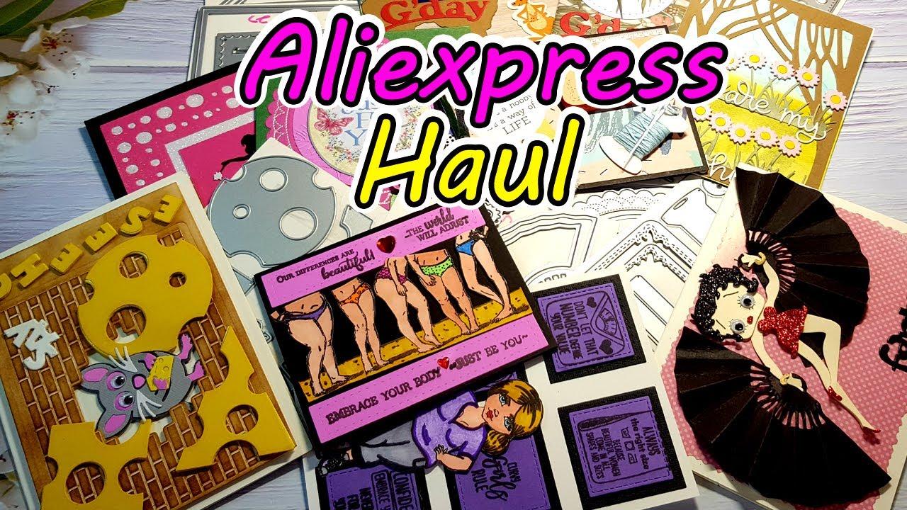 BIG Aliexpress Die Haul Design Team MAY 2020│Card Samples Galore!