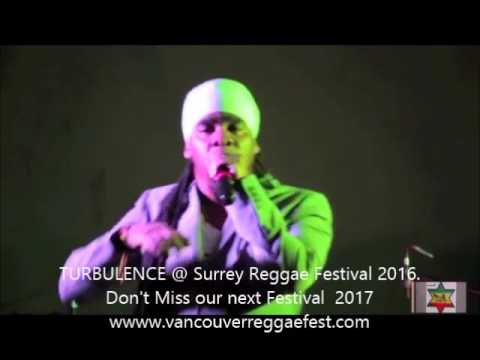 Turbulence The Future & Mad Riddim Band live @ Surrey Reggae Festival 2016 BC Canada
