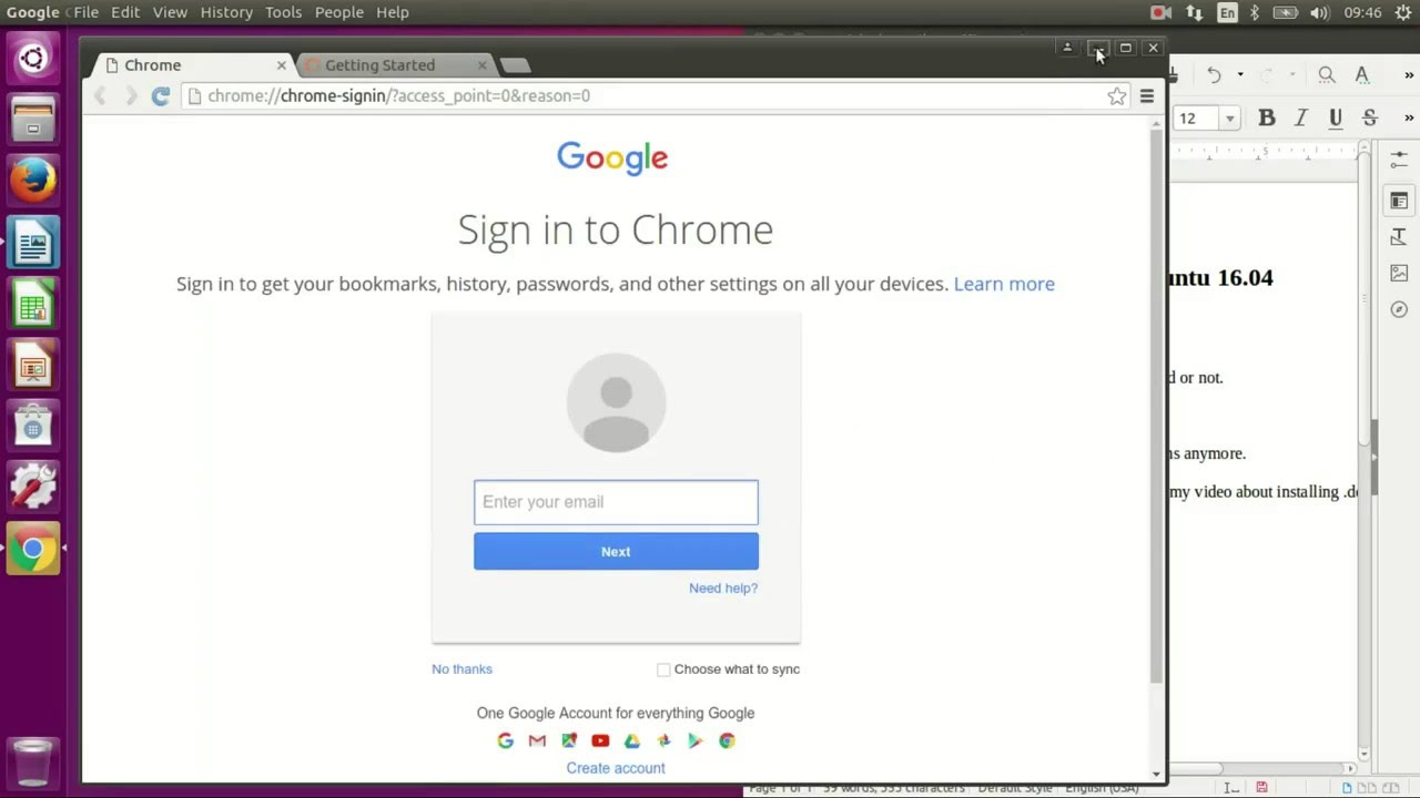 How to install google chrome easily on ubuntu 1604 youtube how to install google chrome easily on ubuntu 1604 ccuart Image collections
