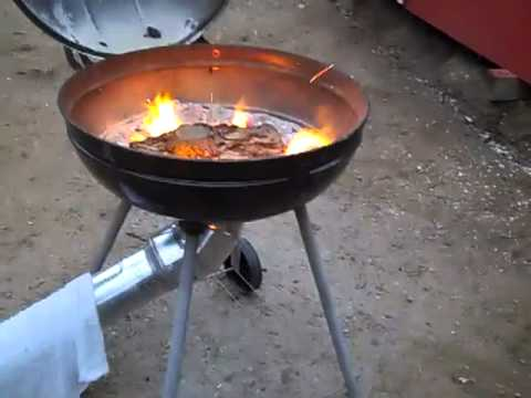 Homemade Forging Furnace - YouTube