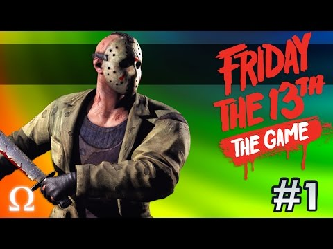 JASON'S FACE REVEALED, CHEATING DEATH! | Friday the 13th The Game #1 Ft. Delirious, Miniladd, Bryce