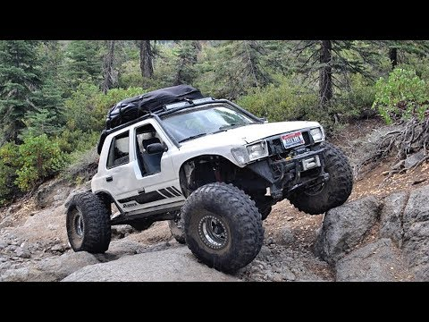 1990 Toyota 4Runner 4x4 Off Road Truck Build Project