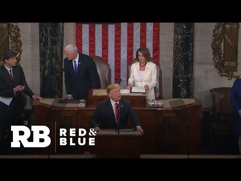 How State of the Union points to Trump's 2020 campaign platform