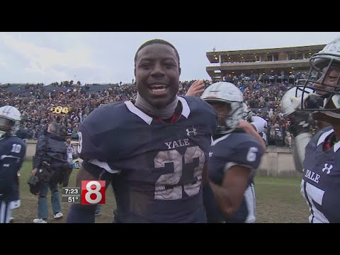 Yale beats Harvard, 24-3, wins first outright Ivy title in 37 years