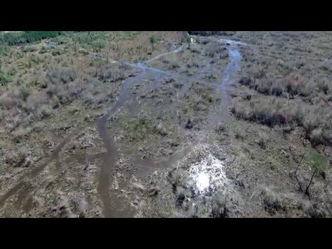 Phantom 3 Flight over Saratoga, Texas