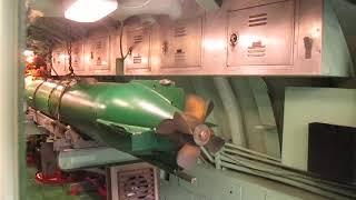 인트라피드 뮤지엄의 미사일 발사 잠수함인 크로울러 내부…