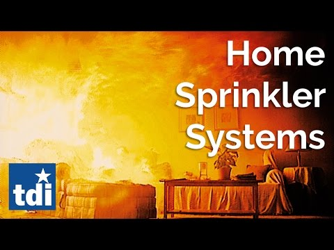 Home Fire Sprinkler Systems | Texas State Fire Marshal's Office