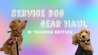Service Dog Gear Haul || In Training Edition