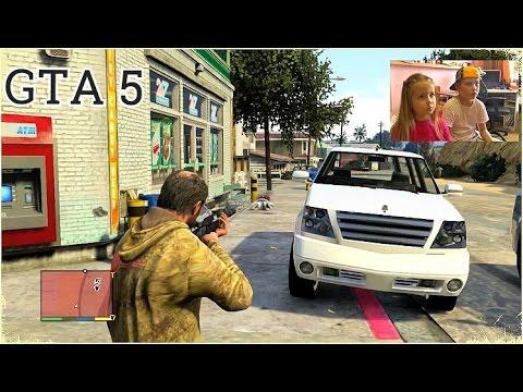 GTA 5 на PS3   Я САМЫЙ КРУТОЙ НА РАЙОНЧИКЕ   Grand Theft Auto 5 FullHD 1080p