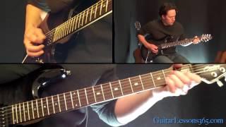 Ain T Talkin Bout Love Guitar Lesson Van Halen Famous Riffs