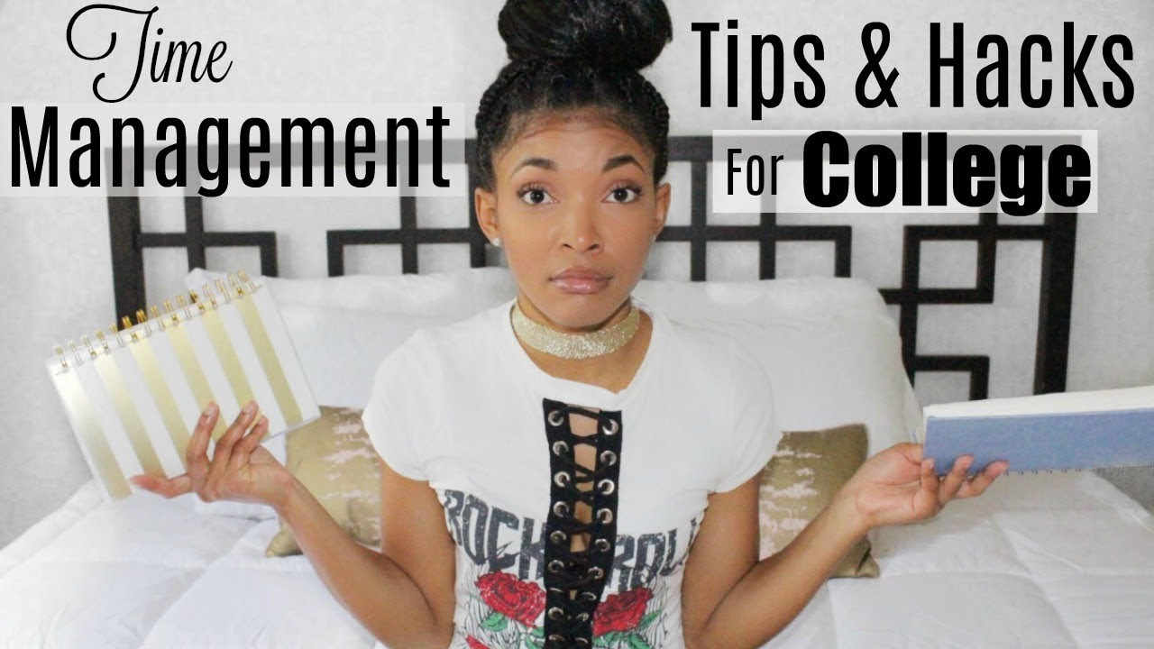 Time Management Tips & Hacks for College/University Students | Brittany Daniel