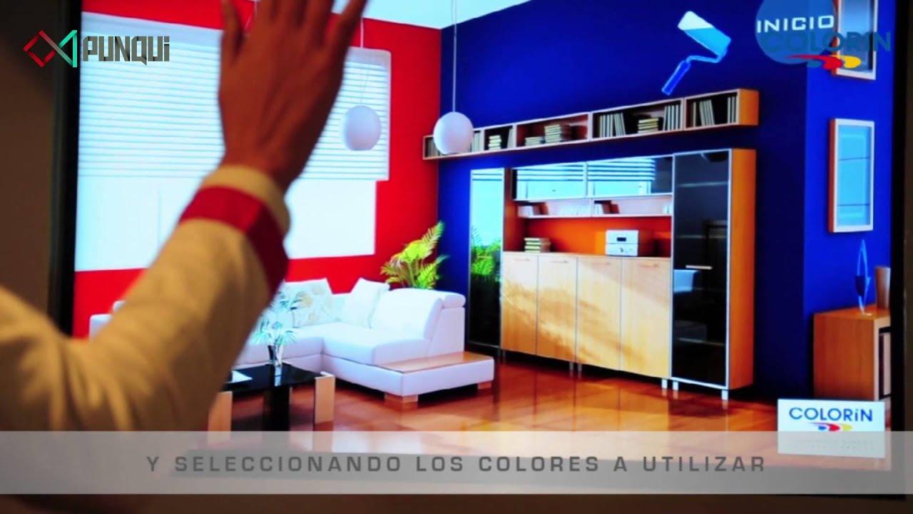 Simulador de pintar habitaciones desarrollo con kinect for Simulador de habitaciones 3d online