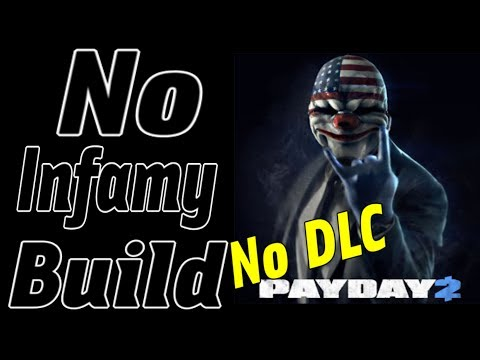 Payday 2 No Infamy No DLC Loud Dodge Death Wish Build (Rogue Perk Deck)