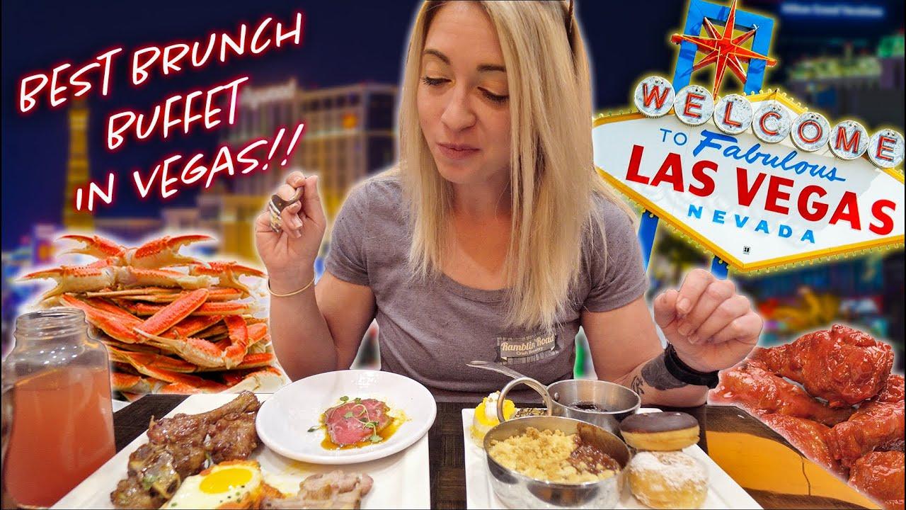 Wicked Spoon ALL YOU CAN EAT Buffet | Las Vegas BEST BRUNCH Buffet!