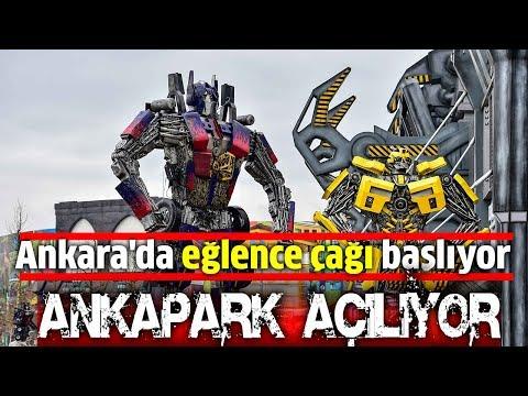 Ankapark-Wonderland Eurasia açıldı - Ankara'da eğlence çağı başlıyor