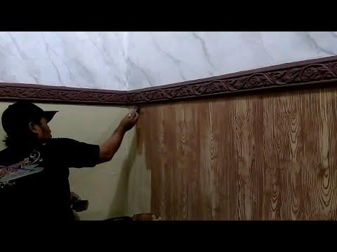 Ide Kreatif Membuat Rumah Anda Tampil Wah dengan Marble Painting Effect || Cat Motif Dinding