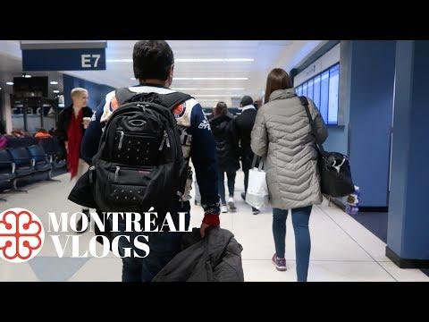 MONTRÉAL Vlogs: Travel Day & Le Dauphin Hotel Tour