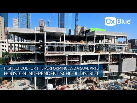 Time-Lapse Video: HISD's High School for Performing & Visual Arts