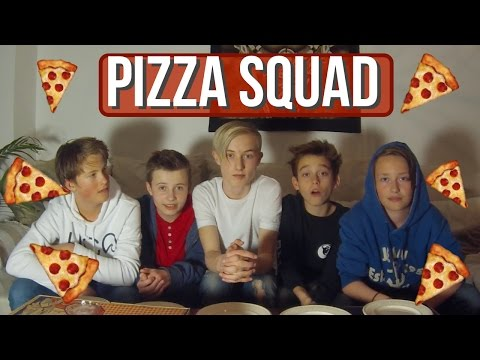 PIZZA SQUAD | Norsk Mukbang (English Subtitles)
