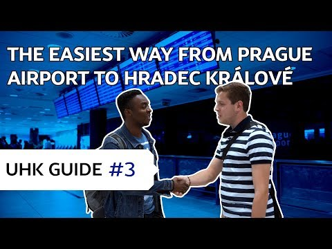 UHK guide #3 | The easiest way from PRAGUE AIRPORT to HRADEC KRÁLOVÉ