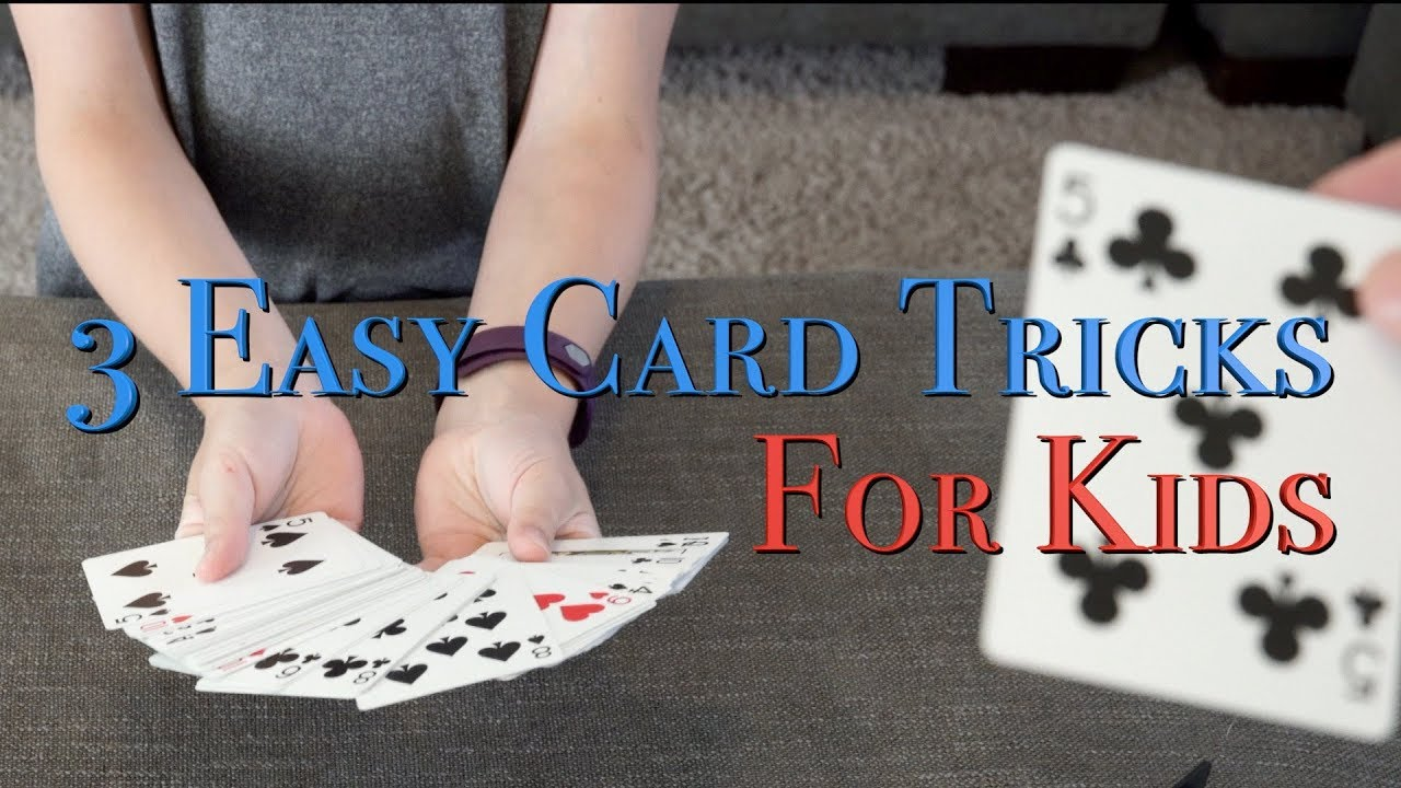 5 Easy Card Tricks for Kids
