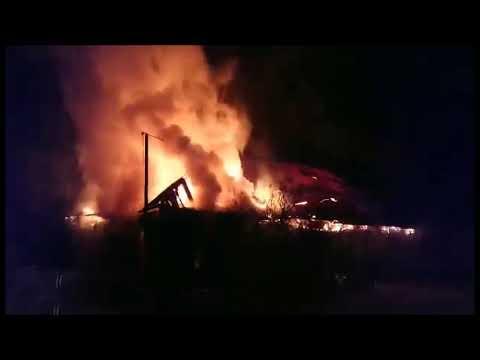 Пожар, унесший жизни четверых жителей поселка Памяти Парижской Коммуны