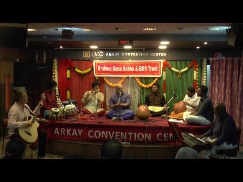 Brahma Gana Sabha & BGS Trust - INDO -EUROPEAN JAZZ FUSION by Ghatam V. SURESH