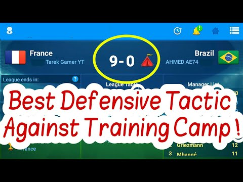 OSM Best Defensive Tactics (Tactics To Beat Training Camp and Beat Stronger teams)