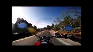 Garden of the Gods ride on 2015 Indian Scout