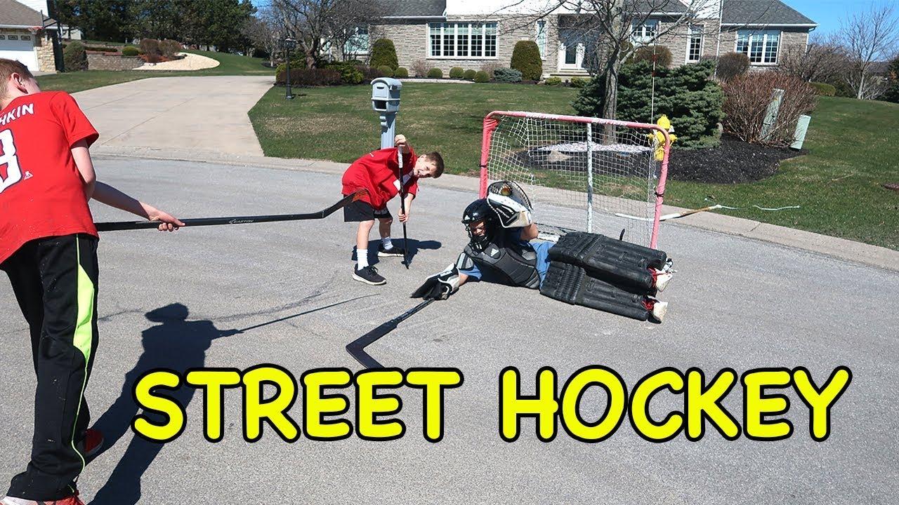 street hockey shoot out kids hockey youtube