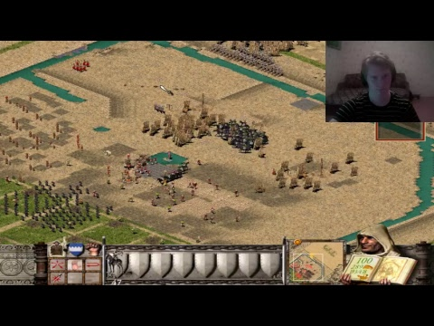 [LIVE] Stronghold Crusader by Menta [480p] Russian stream on english