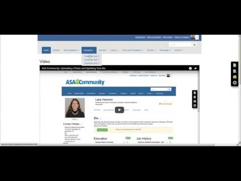 ASA Microsites: Uploading Documents