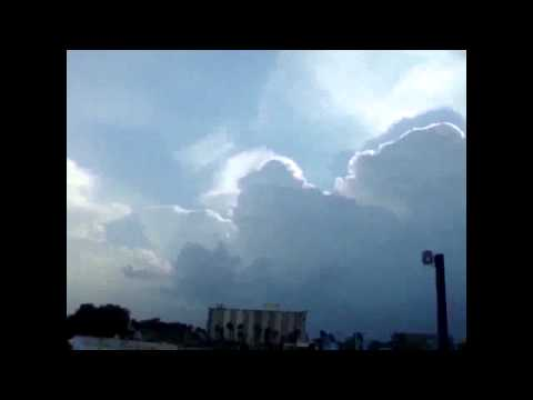 Glitches in the Sky Matrix - Caught on Camera
