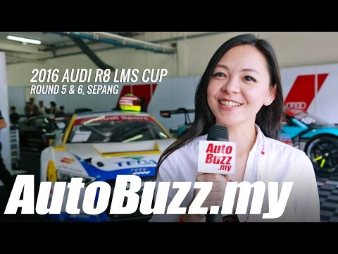 2016 Audi R8 LMS Cup, Round 5 & 6 at Sepang - AutoBuzz.my