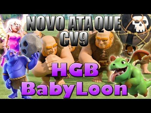 Nova Estratégia!!! PT CV9 combinando HGB com BabyDragon e Balão!!!