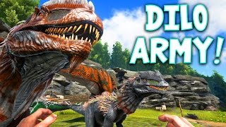 ARK: Survival Evolved - Dilo Army! [12]