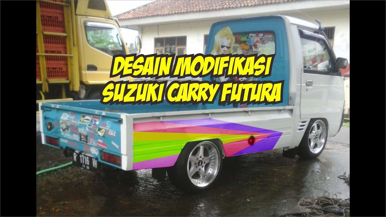 Modifikasi Suzuki Carry Futura Pick Up Desain Otomotif By