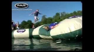 Aqua Jump Eclipse Water Trampoline - iboats.com