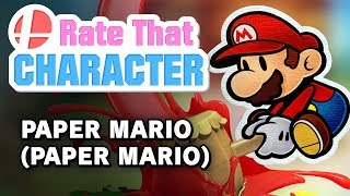 Paper Mario -- Rate That Character