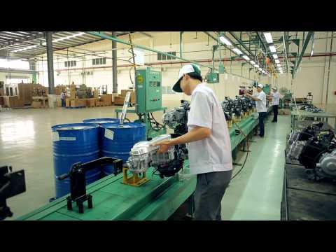 Giới thiệu nhà máy Kymco