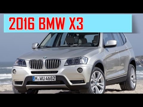 2016 BMW X3 Redesign Interior and Exterior  YouTube