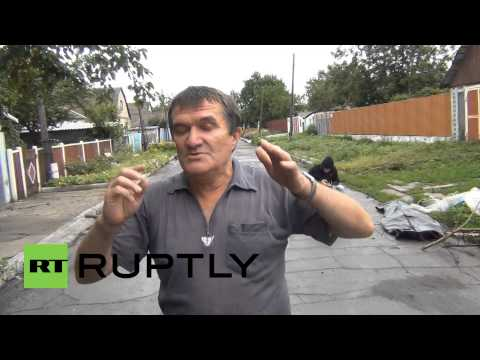 Ukraine: MH17 bodies fell from the sky, residents say
