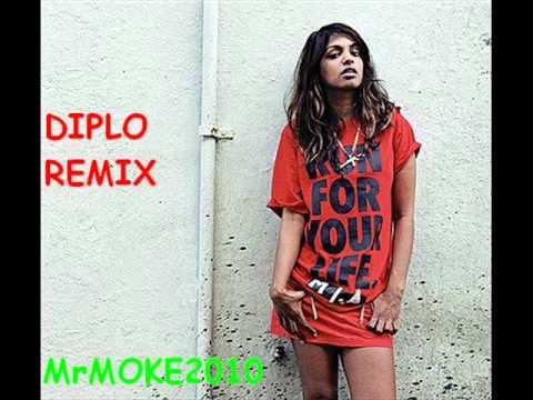 M.I.A. - Paper Planes (Diplo Remix) HQ