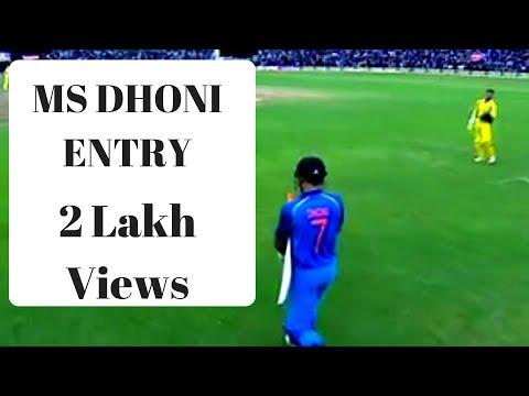 India vs Australia   Dhoni Entrance   Chepauk Stadium - Chennai   September 17 2017 thumbnail