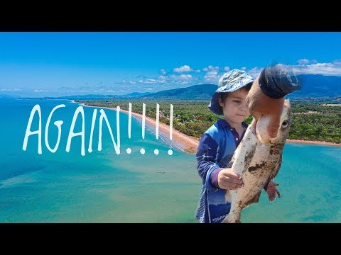 Out Fished Again - Beach Fishing North Queensland