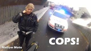 Pulled over by the police with illegal bike! (English Subtitles) (Norway)