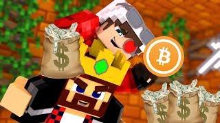 КРИПТОГОРОД! МЫ ПРОДАЛИ ВСЕ НАШИ БИТКОИНЫ И ТЕПЕРЬ КУПАЕМСЯ В ДЕНЬГАХ! Minecraft