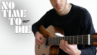 No Time To Die - Billie Eilish - James Bond Theme (Fingerstyle Guitar Cover)
